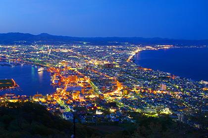 函館山(夜景観賞)バス&ロープウェイ