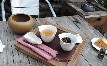 お茶セミナー(大山茶芸)