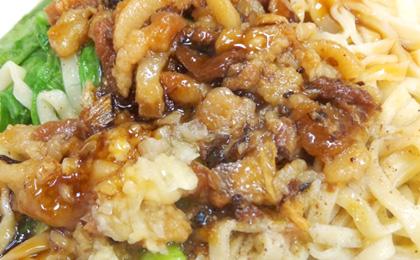 昼食:牛肉麺などのB級グルメ