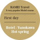 Hotel:Yunokawa Hot spring